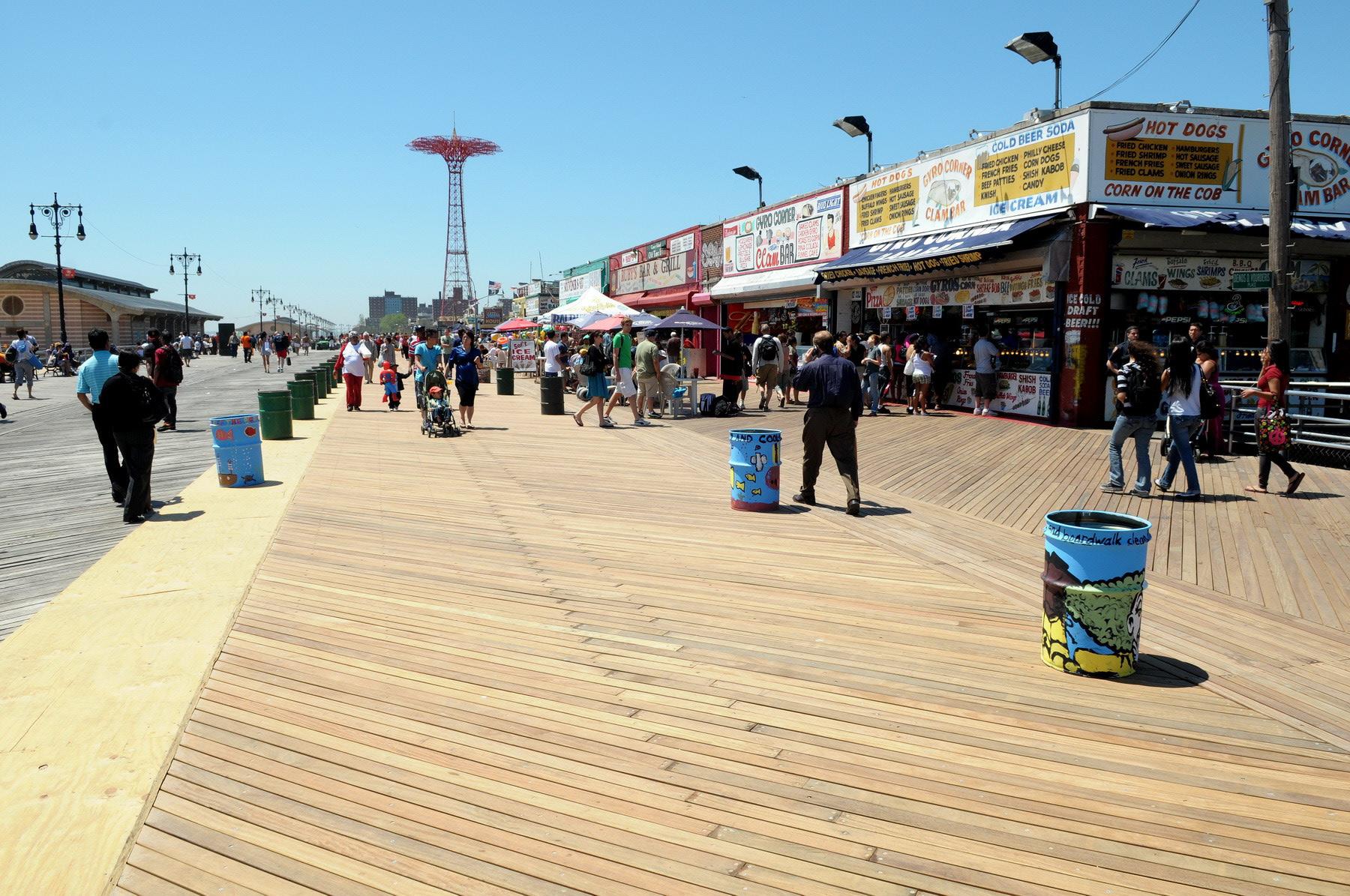 How Far Is Coney Island From Brighton Beach